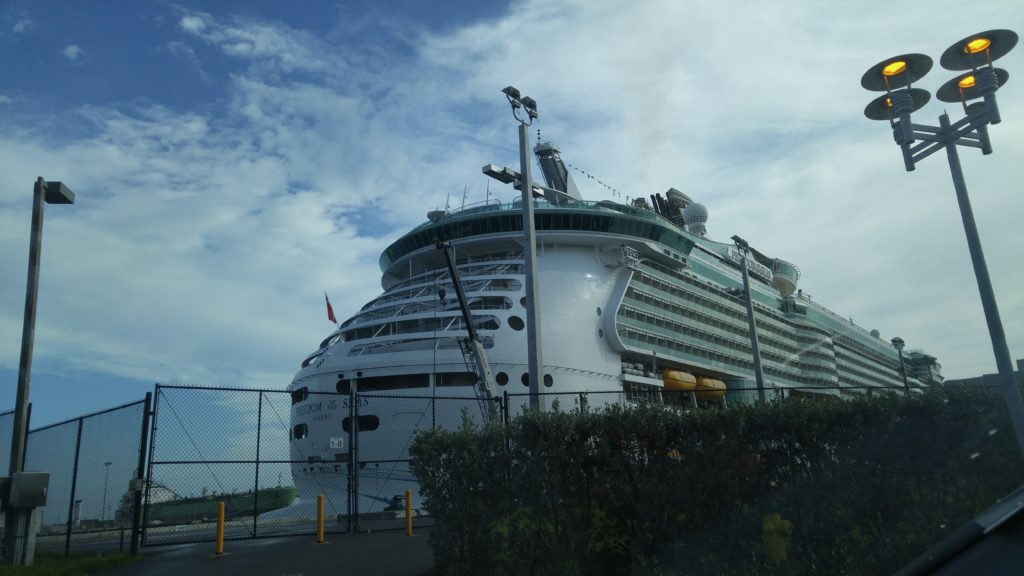 'Oasis of the Seas' Port Canaveral Home - Largest Cruise Ship in the World
