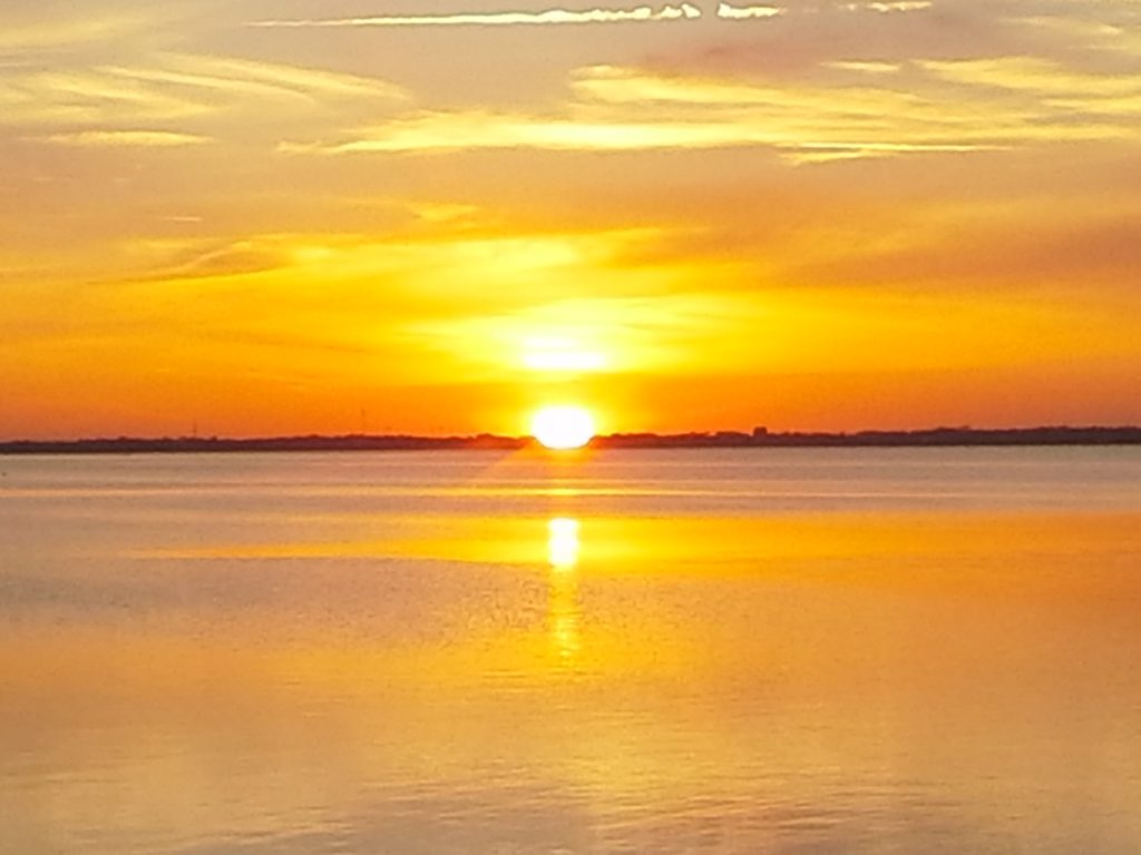 Sunset on the Banana River at Cape Canaveral